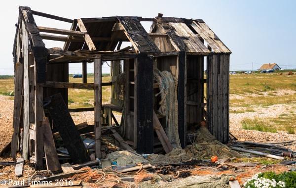 Derelict Fisherman\'s Hut by CharingPaul