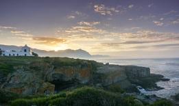 As day breaks over Walker Bay