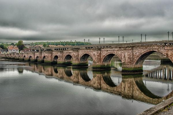 The old bridge, Berwick by wrighty76