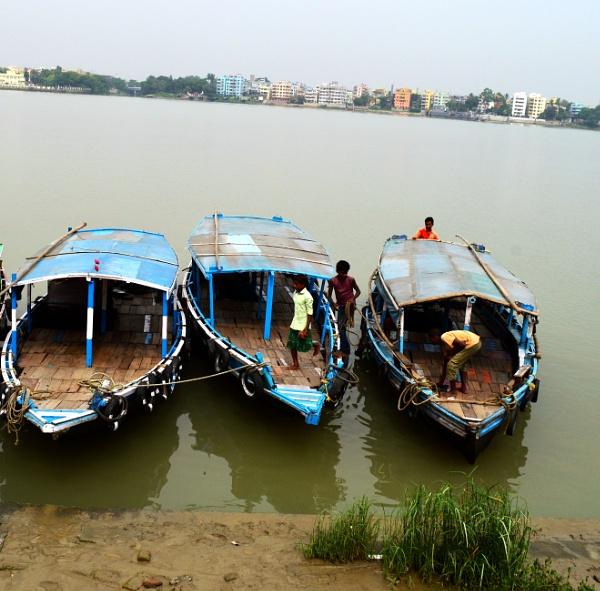 Three boats by kingmukherjee