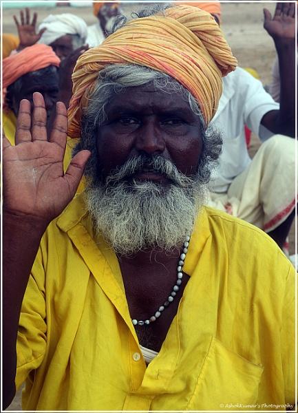 Good Morning Sadhu blessing by ashokynk