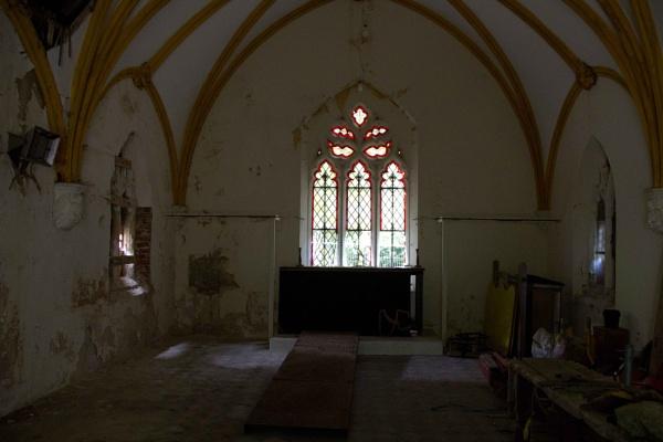 Inside Chapel - Boston Cemetery by pcollingwood