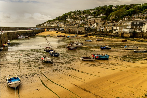 Mousehole Harbour ,Cornwall by phil99