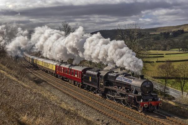 Jubilee Class No 45690 \'Leander\' by limmy62