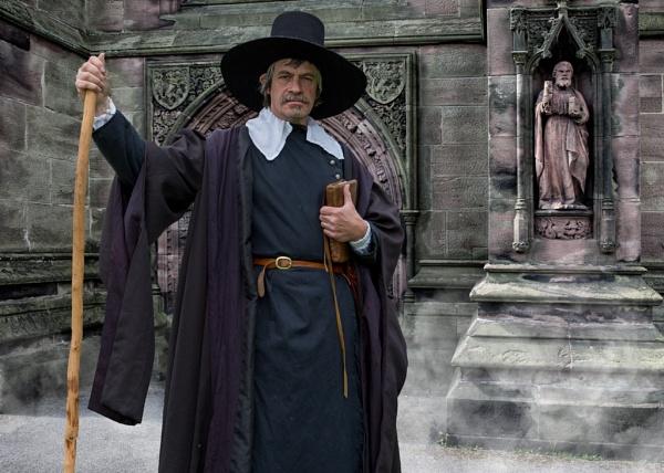 Puritan Preacher by Draig37