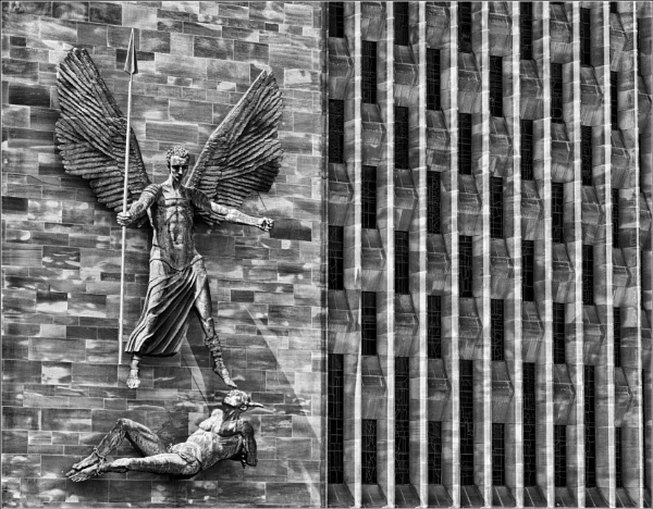 St. Michael and the devil. by franken