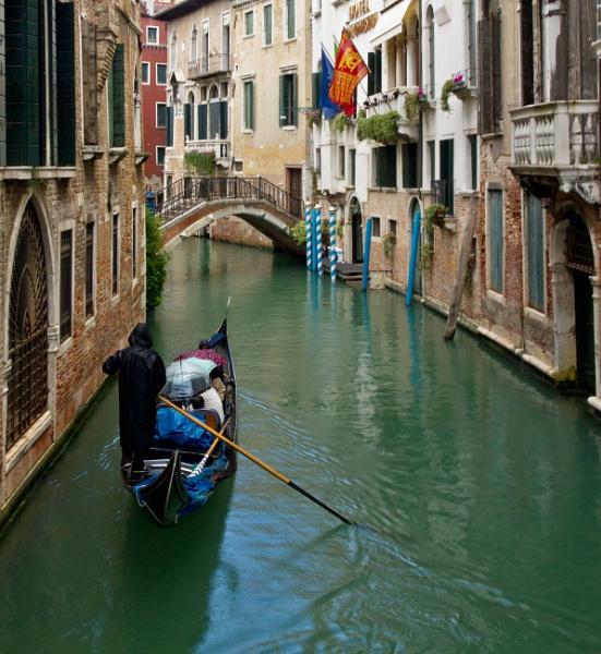 Rainy gondola ride by rambler