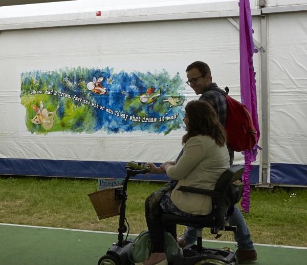 Hay Festival by Meditator