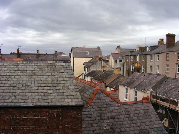 Llandudno Roofscape by ianmoorcroft