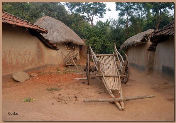 Village in Baranti,Purulia,West Bengal,India. by debu