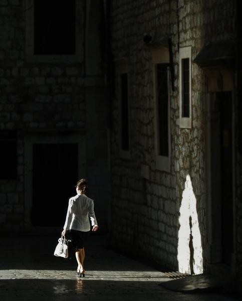 Into the shadows... by woodlark