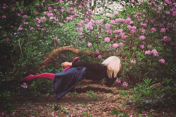 Swimming in the garden of fantasy by AlexandraSD