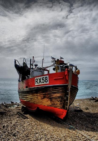 Boat Ashore by af1