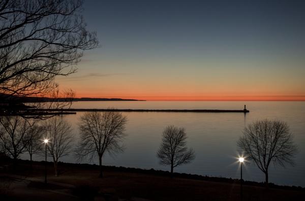 Michigan Sunset by tmann