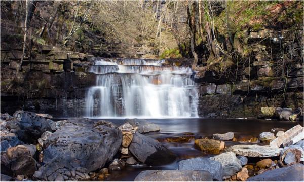 Lower Ashgill Falls by Somerled7