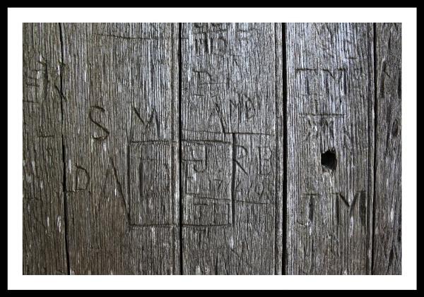 door , morton castle . by callumcorrie