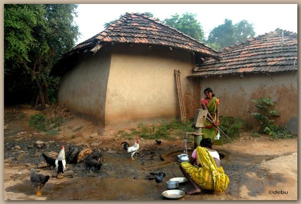 Village Life in Baranti,Purulia,West Bengal,India. by debu