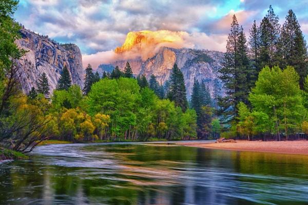 Half Dome in Yosemite National Park by john_w168