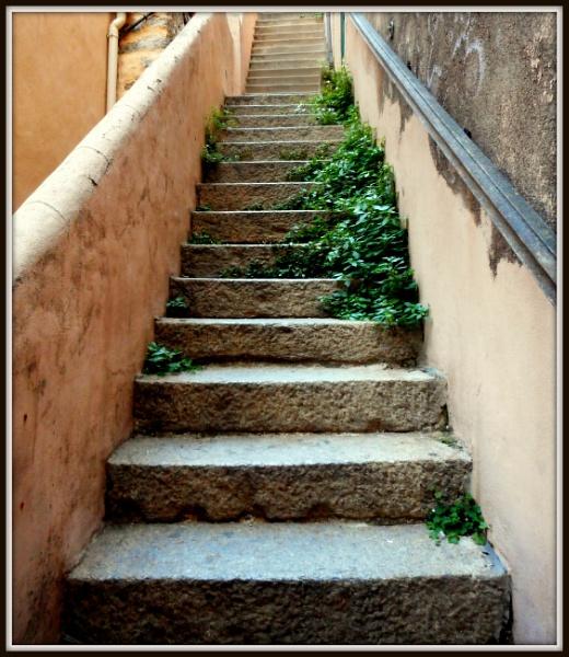 Calvi Stairs by sybilla