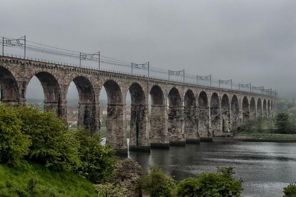 another of the Berwick Railway bridge by wrighty76