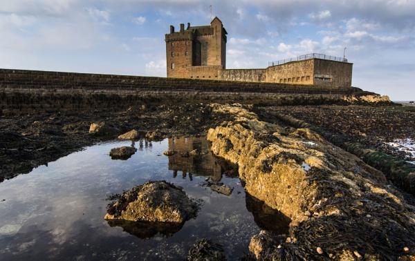 Broughty Castle by Osool