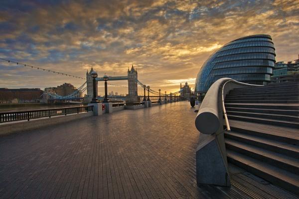 Morning at the bridge by john thompson