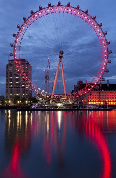London Eye by kgb