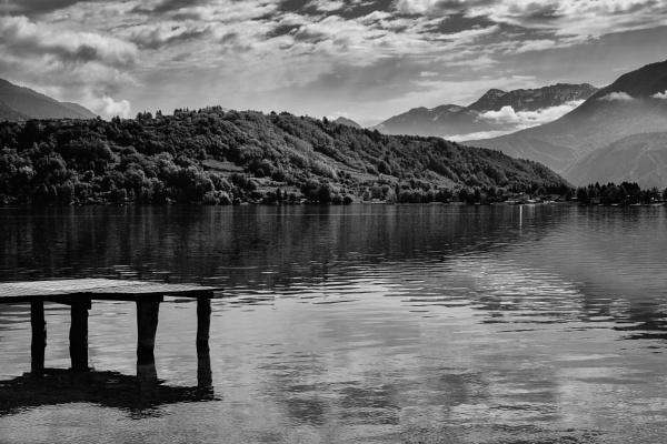 Lago di Caldonazzo Northern Italy by Backabit
