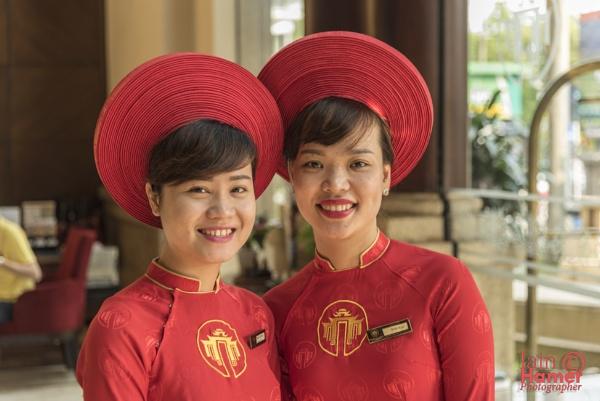 Hotel staff by IainHamer