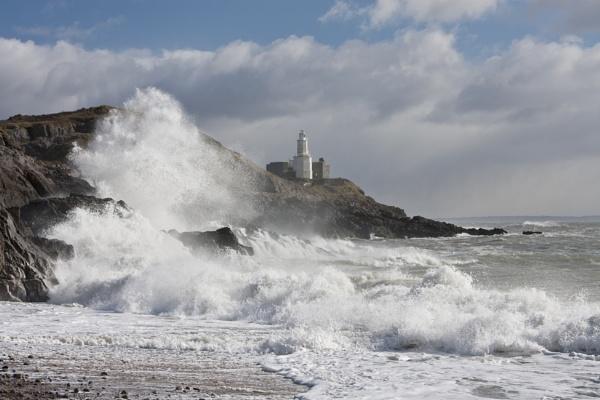 Stormy day at Bracelet by StevieM