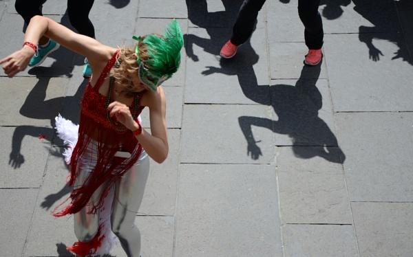 Shadow Dancing by budapestbill