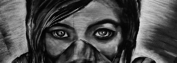 Street Art - Zabou by kgb