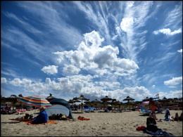 Cloud Formation, Cala Mesquida, Majorca