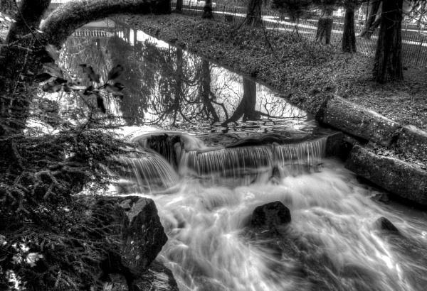 Roath Park Brook by Richardjwills