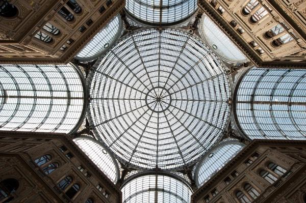 Dome - Galleria Umberto by NevJB