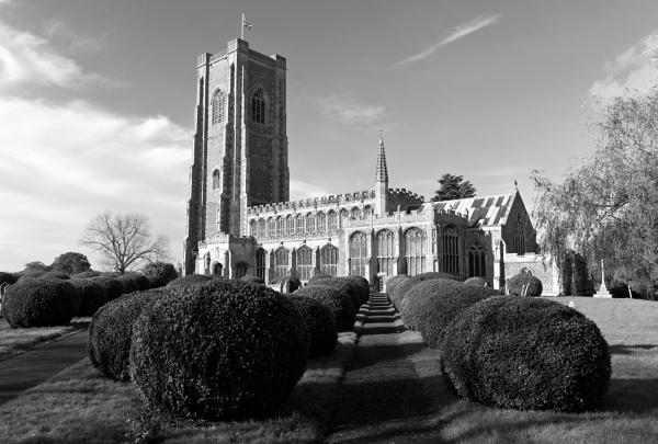 Lavenham Church by NevJB