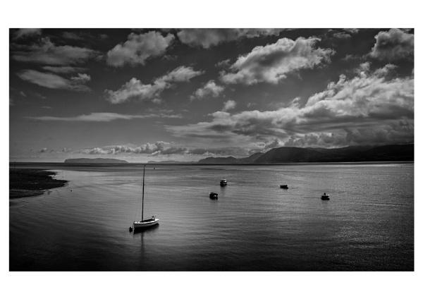Menai Strait, towards the Orme by BigAlKabMan