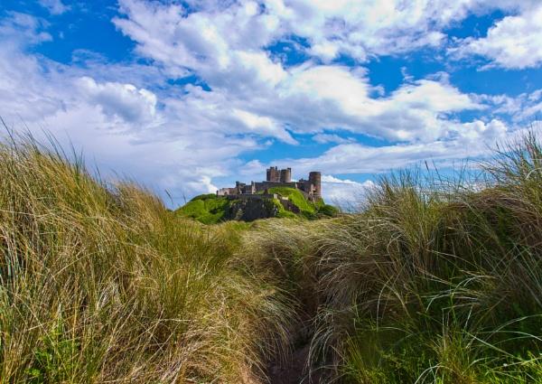 Bamburgh castle Northumberland by whitefootphoto