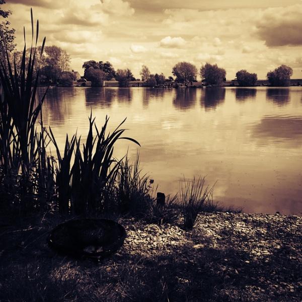 Fishing Lake by chloebaines