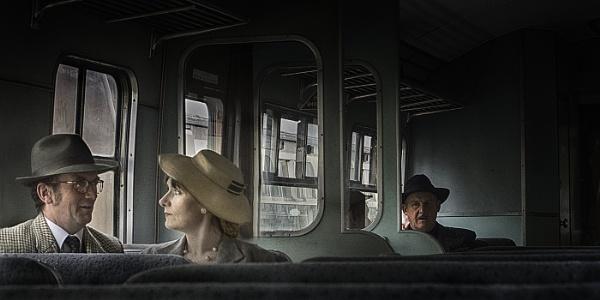 Stranger on the Train by judidicks