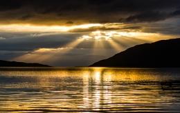 Sunset Little Loch Broom