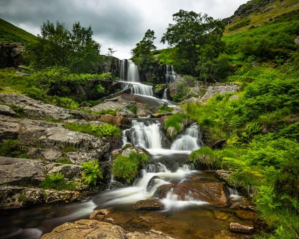 Nant Gwynllyn Falls