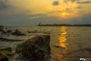 Saffron Sky by maheshjayan12