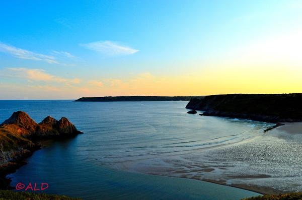 Three Cliffs Bay by Andrea324