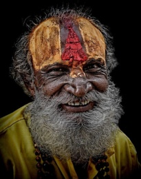 the happy sadhu