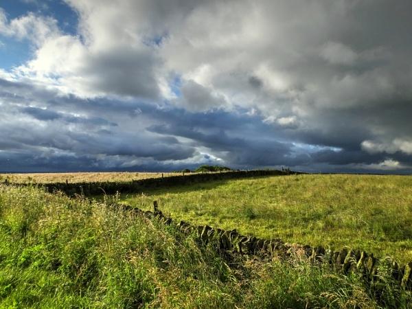 Stormy Morning Sky by ianmoorcroft