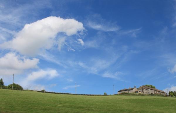 Summer cumulus cloud by michaelfox