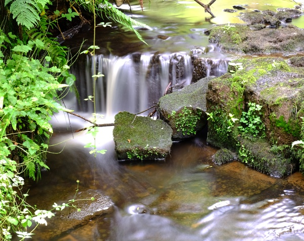 dalry waterfall by steve486