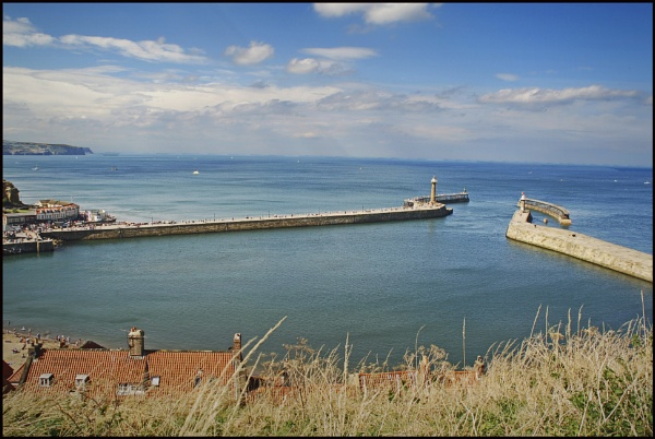 Whitby Harbour by bigwheels
