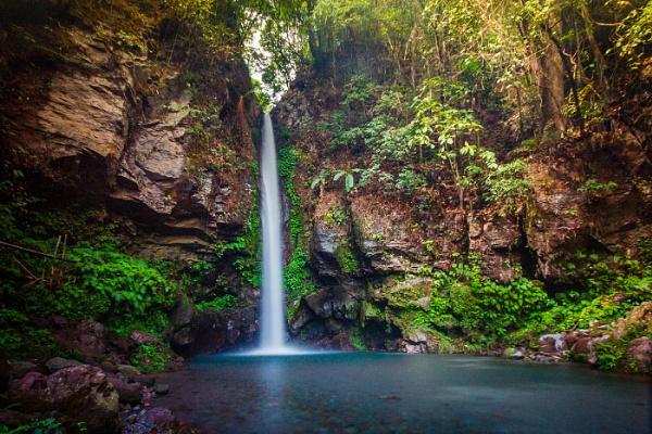 Katibawasan Falls, Camiguin Island, Philippines by jonathanfriel